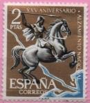 Sellos de Europa - España -  Batalla d´Ebro