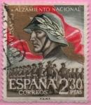 Sellos de Europa - España -  Desfile d´l´Victoria