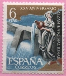 Stamps : Europe : Spain :  Central Hidroelectrica