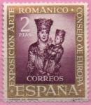 Sellos de Europa - España -  Virjen d´Irache