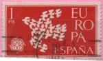 Sellos de Europa - España -  Europa 1961