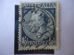 Stamps Australia -  King George VI (1895-1952)