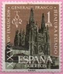 Sellos de Europa - España -  Catedral d´Burgos y Victor d´General Franco
