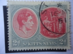 Stamps Saint Kitts and Nevis -  Manantial Medicinal - George VI (1938/50)
