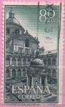 Sellos de Europa - España -  Real monasterio d´san Lorenzo d´Escorial (Patio d´l´Evangelistas)