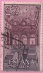 Stamps Spain -  Real monasterio d´san Lorenzo d´Escorial (Escalera principal)