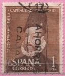 Sellos de Europa - España -  IV centenario d´l´capital d´Madrid (Felipe II)