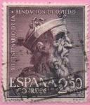 Sellos de Europa - España -  XII centenario d´l´Fundacion dl Oviedo (Alfonso II)