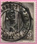 Stamps Spain -  XII centenario d´l´Fundacion dl Oviedo (San Pedro y San Pablo)