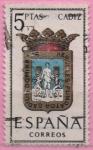 Stamps Spain -  Cadiz