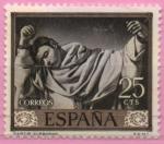 Sellos de Europa - España -  San Serapio