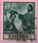 Sellos del Mundo : Europa : España : Jesus coronando a San Jose