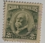 Stamps : America : Cuba :  Máximo Gomez 2c