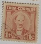 Stamps : America : Cuba :  Jose Marti 1c