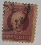 Stamps : America : Cuba :  Jose de la Luz y Caballero 3c