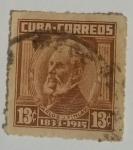 Stamps : America : Cuba :  Carlos J. Finlay 13c