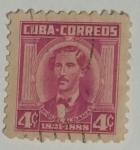 Stamps : America : Cuba :  Miguel Aldama 4c