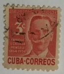 Stamps : America : Cuba :  Enríquez L. Callejas