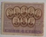 Stamps Cuba -  Centenario Generales Ejercito Libertador