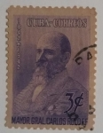 Stamps : America : Cuba :  Mayor General Carlos Roloff