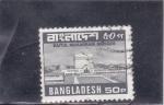 Stamps Bangladesh -  MEZQUITA BAITUL MUKARRAM