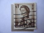 Stamps : Asia : Hong_Kong :  Queen Elizabeth II - Serie 1962/72)