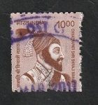 Stamps India -  2673 - Chhtarapati Shri Shivaji Maharaj