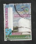 Sellos de Asia - Pakistán -  50 Años del primer reactor nuclear, en Pakistán