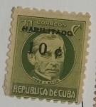 Stamps : America : Cuba :  Jose Antonio Saco 1c