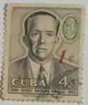 Stamps : America : Cuba :  Ángel Arturo Aballi