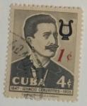 Stamps : America : Cuba :  Ignacio Cervantes