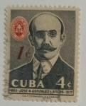 Stamps : America : Cuba :  Jose A.Glez Lanuza