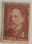 Stamps : America : Cuba :  Gral Emilio Nuñez