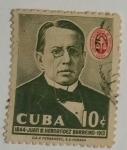 Stamps : America : Cuba :  Juan B.Fernández Barreiro
