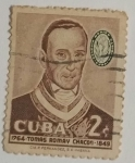 Stamps : America : Cuba :  Tomas Romay Chacon