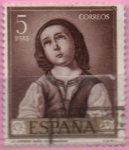 Stamps Spain -  Virjen niña