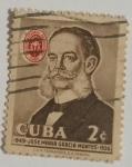 Sellos del Mundo : America : Cuba : Jose Maria Garcia Montes
