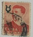 Stamps : America : Cuba :  Cuba 14c