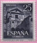 Sellos de Europa - España -  IV centenario d´l´reforma Teresiana (Monasterio d´san Jose Avila)