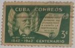 Stamps : America : Cuba :  Eloy Alfaro