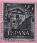 Stamps Spain -  IV centenario d´l´reforma Teresiana (Monasterio d´san Jose Avila)