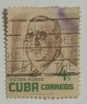 Sellos del Mundo : America : Cuba : Víctor Muñoz
