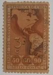 Stamps : America : Cuba :  Centenario de Primeros sellos postales de America