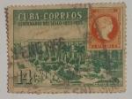 Stamps : America : Cuba :  Residencia del Capitán General Plaza de Armas