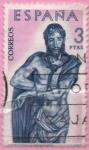 Stamps Spain -  Ecce Homo