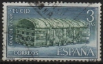 Stamps Spain -  Cofre catedral d´Burgos