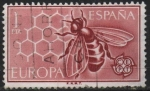 Stamps of the world : Spain :  Europa 1962