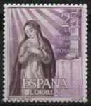 Sellos de Europa - España -  Misterios d´Santo Rosario (Anunciacion)