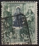 Stamps Spain -  Misterios d´Santo Rosario (Jesus con los Doctores)