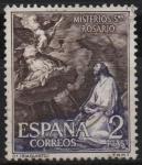 Sellos de Europa - España -  Misterios d´Santo Rosario (Oracion en el Huerto)